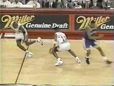 Chris Mullin (38pts) vs. Michael Jordan (40pts) (1991)