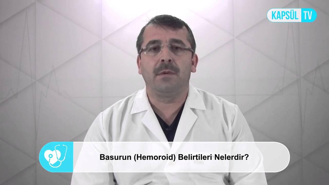 Hemoroid (Basur) nedir Belirtileri nelerdir ve tedavisi var mıdır