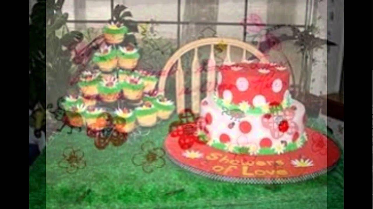 Ladybug Baby Shower Cake Youtube