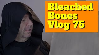 Faux Stone Paint for Gothic Arch Window - Bleached Bones Vlog 75