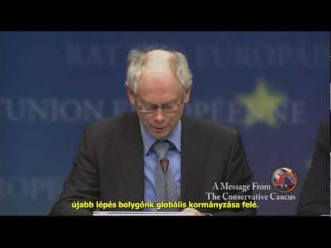 Van Rompuy a globális kormányzásról - Global Governance