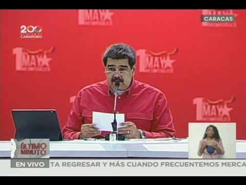 Presidente Maduro: Prestaciones de los trabajadores se calcularán en petros