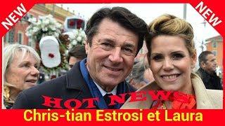 Christian Estrosi et Laura Tenoudji de sortie avec leur fille Bianca pour le carnaval de Nice