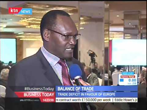 Kenya would have to start exporting processed products to Europe to increase trade balance earnings