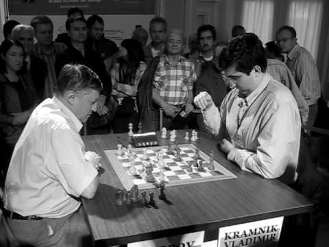 Karpov - Kramnik WCh blitz  2008 chess