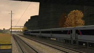 MSTS-Amtrak and SEPTA the Day before Thanksgiving