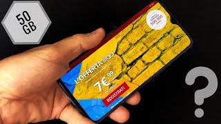 ILIAD 50 GB a 7,99 € Pazzesco !