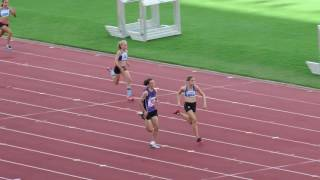 200m U14G Final Monique Hanlon 26.77 -2.2 Queensland Athletics Championships 2017 2017 Video
