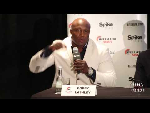Rory MacDonald, Paul Daley, Bobby Lashley, Derek Anderson Bellator 179 Press Conference
