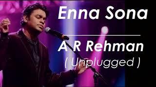 Enna Sona | Unplugged | A R Rehman Live | Voice Conquer