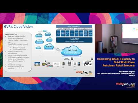 WSO2Con USA 2014 : Gilbarco Cloud: Harnessing WSO2 Flexibility to Build World-Class SaaS Offering