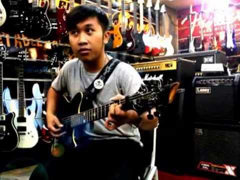 Solo Gitar minus one lagu daerah caping gunung video original