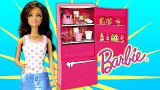 Barbie Glam Refrigerator Play Set