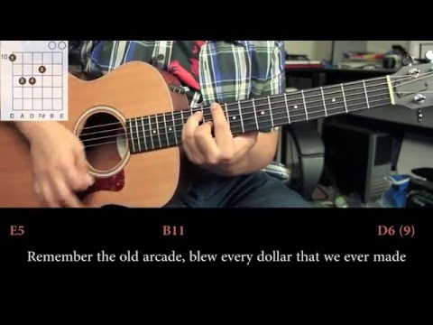 Nickelback - Photograph COVER  | Tutorial Guitarra (HD)