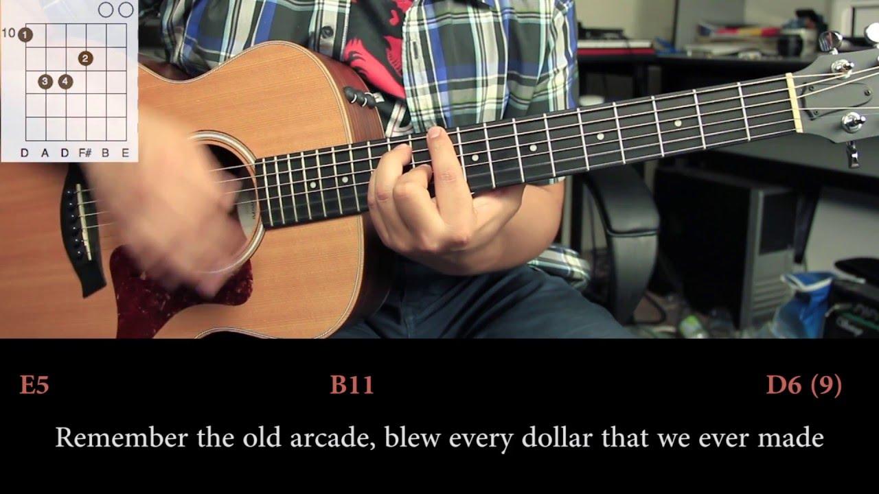 Nickelback Photograph Cover Tutorial Guitarra Hd Youtube