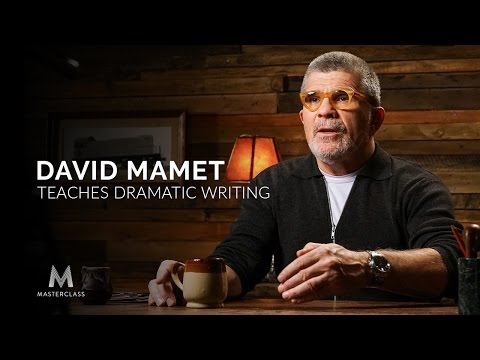 David Mamet Teaches Dramatic Writing | Official Trailer