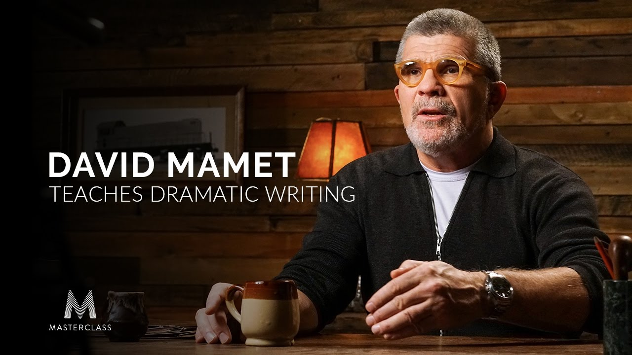 David Mamet Teaches Dramatic Writing | Official Trailer - YouTube