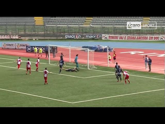 Icaro Sport. Rimini-Correggese 2-1, il servizio