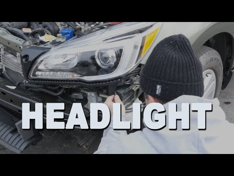 How To Install a Headlight – 2017 Subaru Outback