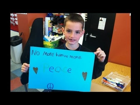 Candlelight vigil for 8-year-old victim, Martin Richard