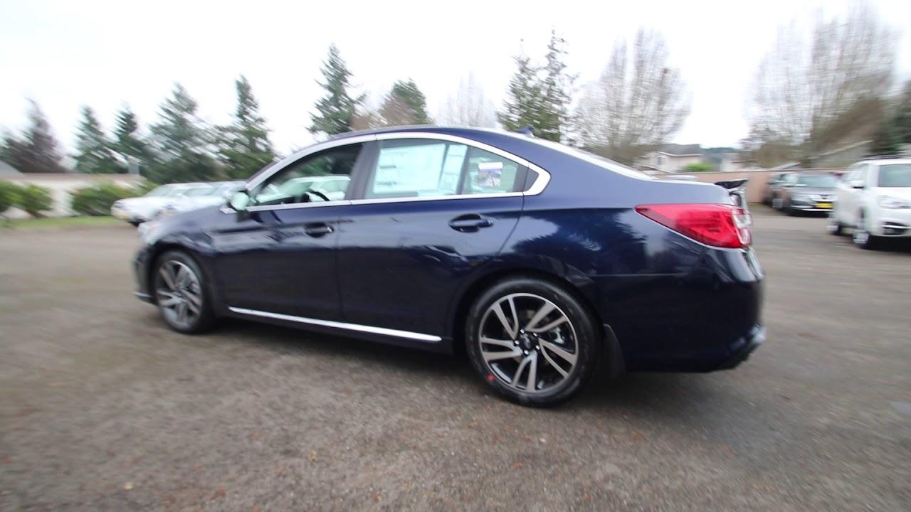 2018 Subaru Legacy 2 5i Sport Dark Blue Pearl J3028617 Tacoma