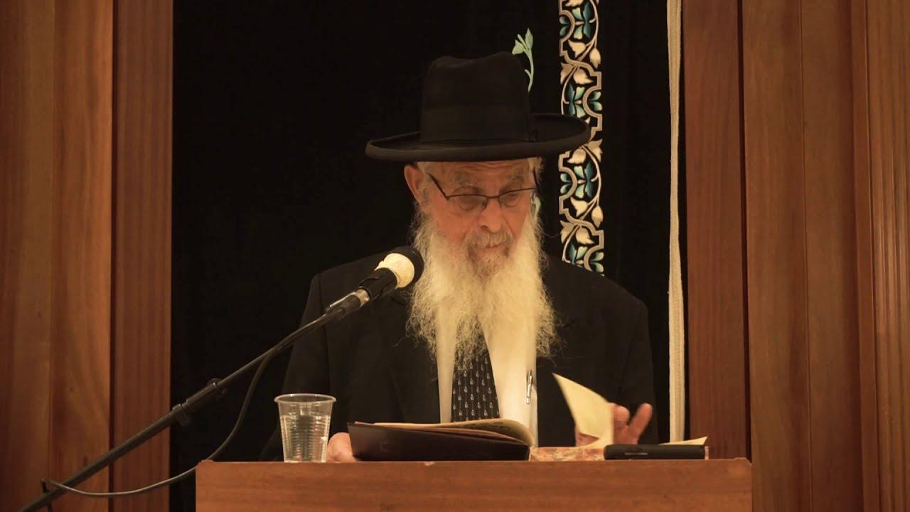 יוקרא דלקמיה-שיעור כללי-הרב יעקב אריאל