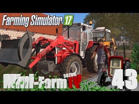 "Farming Simulator 17 Mini-Farm #43 - ""Nowy ciągnik sąsiada, który lepszy?!?"" thumbnail"