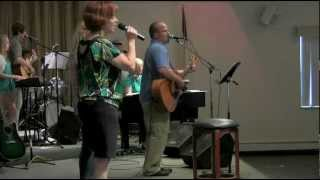 BRC Worship Team - Shout To The Lord (Hillsong cover by Darlene Zschech) - 06/09/12