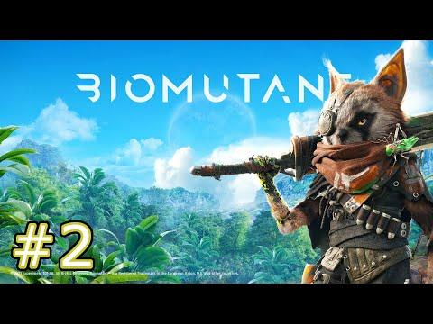 #2【バイオミュータント】新作ゲーム実況!PS5で遊ぶきっとティーンエイジなバイオミュータントを初見プレイ。PS5での動作もチェック。ストーリー攻略【Biomutant】
