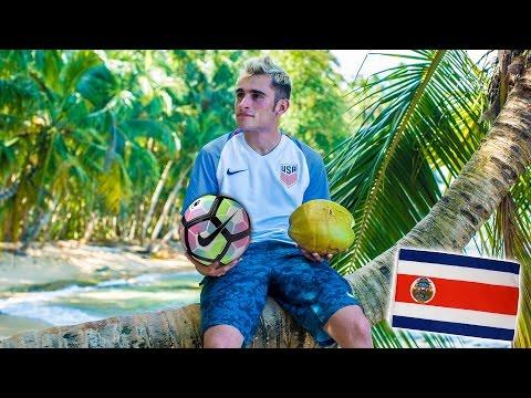FÚTBOL EN EL CARIBE Y PLAYAS DE COSTA RICA