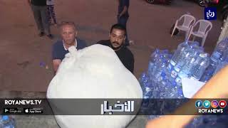غرفة تجارة إربد تجمع مساعدات للنازحين السوريين