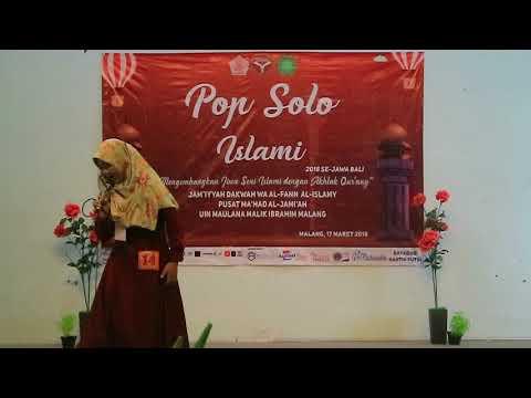 Kuasa Mu BCL Covered By Luluk Elvi (santri Bayhi Pasuruan) Di MUFI UIN Malang
