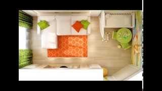 видео Як облаштувати дитячий куточок у квартирі