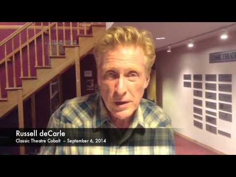Russell deCarle at Classic Theatre Cobalt