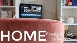 Study & Reading Room  HOME TOUR