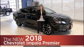 New 2018 Chevrolet Impala Premier - Mpls, St Cloud, Monticello, Buffalo, Rogers, MN - Walk Around