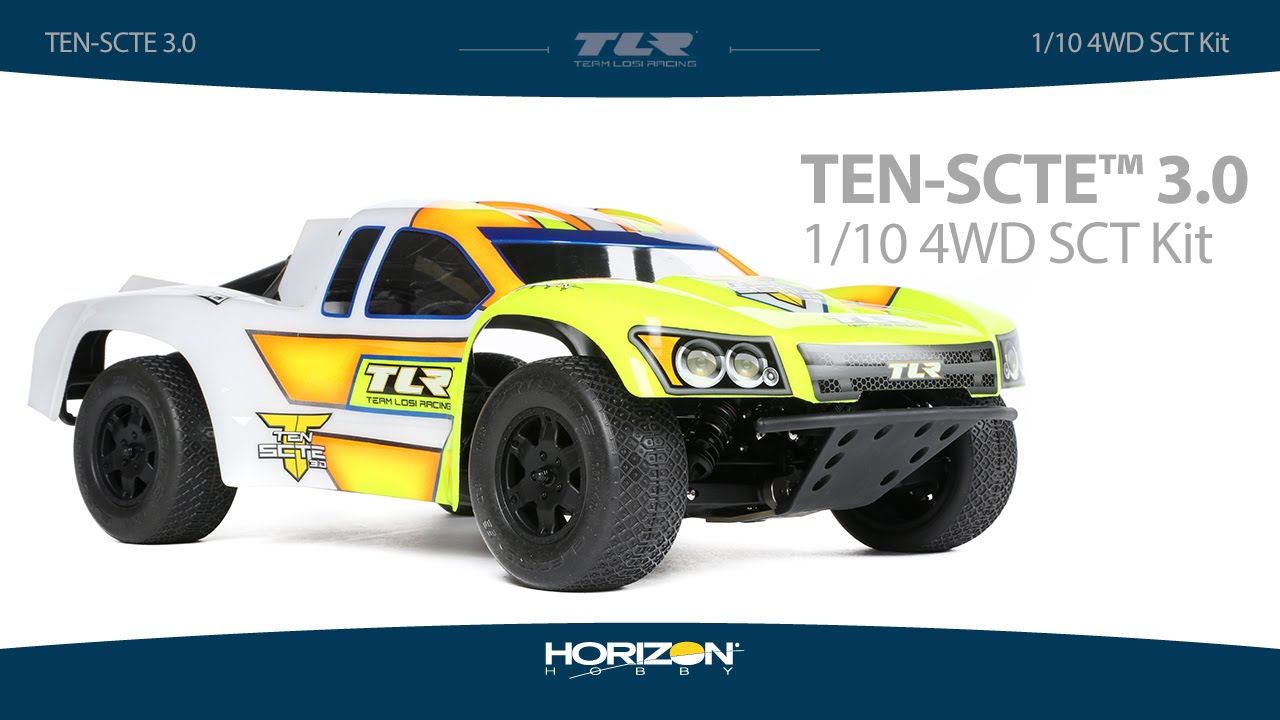 Team Losi Racing TEN-SCTE 3.0 4WD Short Course Truck Kit