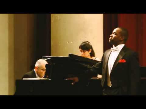 Lawrence Brownlee: CARTER Prelude & Rondo (Cantata 1964)
