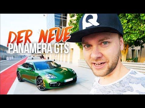 Zurück auf der Rennstrecke im Porsche Panamera GTS