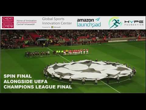SPIN (Sports Innovation) Final in Cardiff alongside UEFA Champions League Final