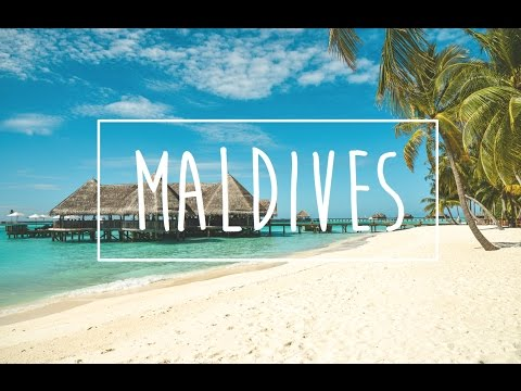 Tropical island travel adventure - surfing and diving in the Maldives