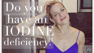 Do you have an IODINE deficiency? IODINE, your THYROID and weight