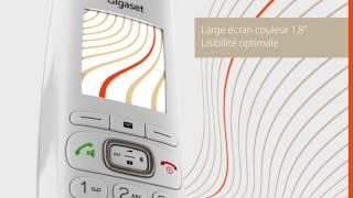 Téléphone sans fil GIGASET CL750 - BUT