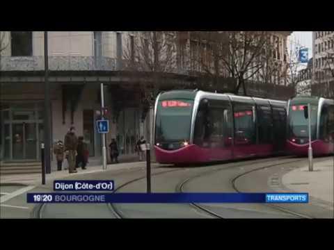 Feuilleton :  à la découverte des dessous du tram de Dijon ! - Episode 1