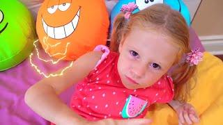 Nastya và những câu chuyện trẻ em về những chiếc gối không thoải mái