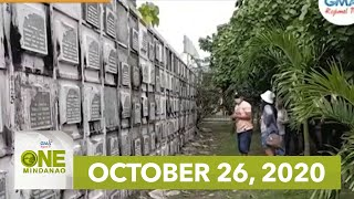 One Mindanao: October 26, 2020