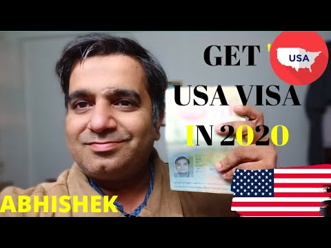 HOW TO APPLY  USA VISA  IN 2020 | FILL DS160 NON-IMMIGRANT US VISA FORM AND GIVE US VISA INTERVIEW