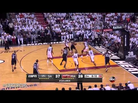 Kawhi Leonard vs LeBron James Full Duel Highlights 2014 Finals G4 - Spurs at Heat
