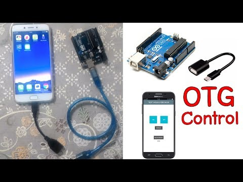 Arduino USB Serial With OTG Cable  On Android For App Inventor