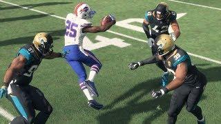 Madden NFL 18 - LeSean McCoy Makes 3 Jaguars Miss On A Single Cut!?!